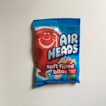 Air Heads Soft Filled Bites Original fruit (170g) From auntie ammies American Candy Shop