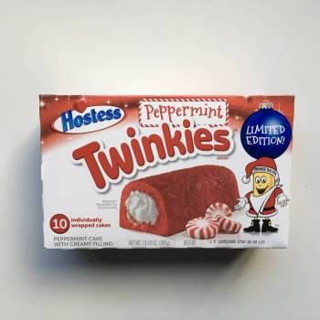 Hostess Holiday Peppermint Twinkies (385g) From Auntie Ammie Candy Shop