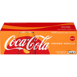 Orange Vanilla Coca Cola 355ml Fridgepack From Auntie Ammie American Candy Shop