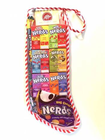 Nerds Christmas Stocking From Auntie Ammies Candy Shop