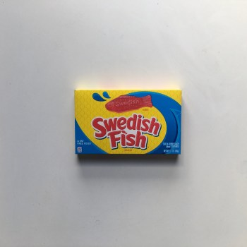 Swedish fish reds Theatre box from auntie ammies american candy shop
