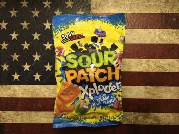 Sour Patch Xploderz (184g) American sweets Auntie Ammie's Candy Shop