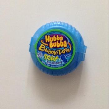 Hubba Bubba Bubble Tape Sour Blue Raspberry from Auntie Ammie's American Candy store UK