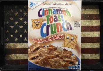 Cinnamon Toast Crunch (345g) American cereals Auntie Ammie's Candy Shop