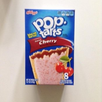 Pop Tarts Frosted Cherry traditional american food from Auntie Ammie's American Candy store UK