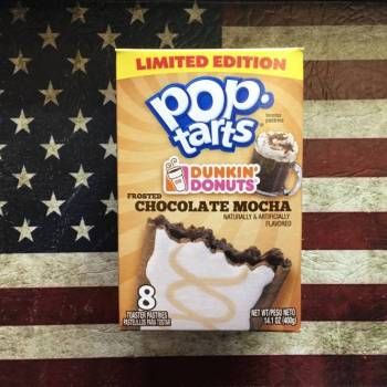 Limited Edition Dunkin' Donuts Frosted Chocolate Mocha Pop Tarts from Auntie Ammies Candy Shop