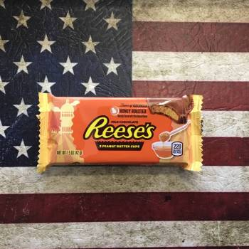 Reeses Honey Roasted 2 peanut Butter cups From Auntie Ammies Candy Shop