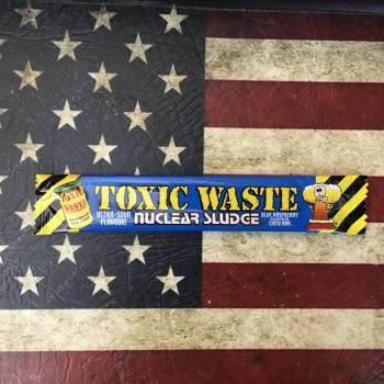 Toxic Waste Nuclear Sludge Blue Raspberry 20g From Auntie Ammies Candy Shop