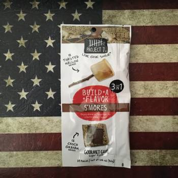 Project 7 Build A Flavour S'Mores Gourmet Gum (30g) From Auntie Ammies Candy Shop