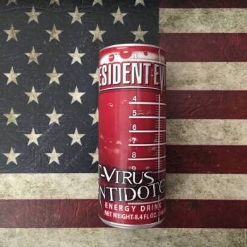 Resident Evil T-Virus Antidote Energy Drink (248Ml) From Auntie Ammies Candy Shop