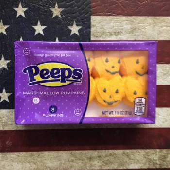 Peeps Marshmallow Pumpkins 31g From Auntie Ammies Candy Shop