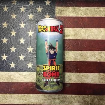 Dragonball Z Spirit Bomb Energy Drink (248ml) From Aun tie Ammies Candy Shop