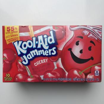 Kool Aid Jammers Cherry American candy UK