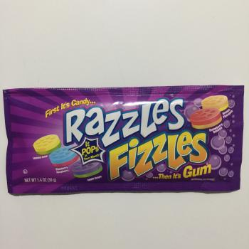 Razzles Fizzles American candy UK