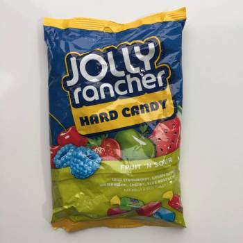Jolly Rancher Hard Candy Fruit 'N Sour (184g) American sweets uk