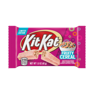Kit Kat Fruity Cereal Flavored Standard Bar 42g from auntie ammies candy shop