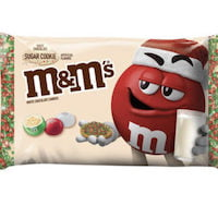 M&Ms Sugar Cookie Candy Share Size 79g