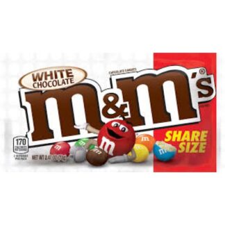 White Chocolate M&Ms (70g) from Auntie Ammies American Candy Shop