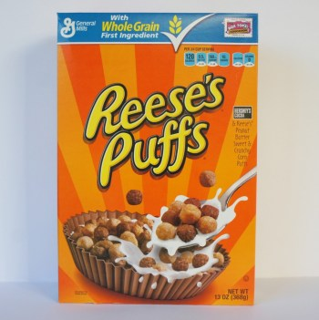 Reese's Puffs American breakfast from Auntie Ammie's Candy Shop