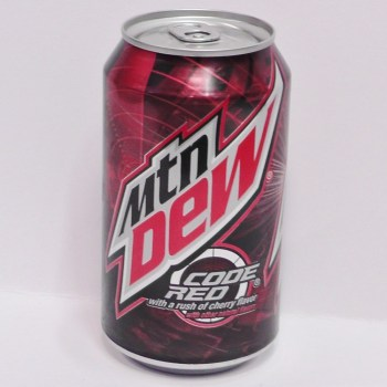 Mtn Dew Code Red American soda from Auntie Ammie's American Candy Shop UK