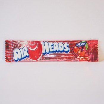 cherry airheads chew bar American sweets from Auntie Ammie's Candy Shop
