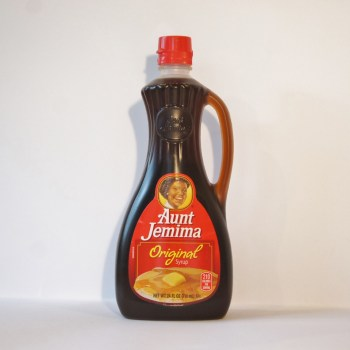 maple flvoured syrup from nestle American groceries from Auntie Ammie's Candy Shop UK