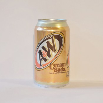 A&W Cream American soda from Auntie Ammie's Candy Shop UK