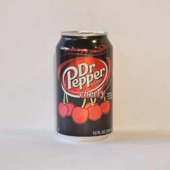 cherry dr pepper American soda from Auntie Ammie's Candy Shop UK