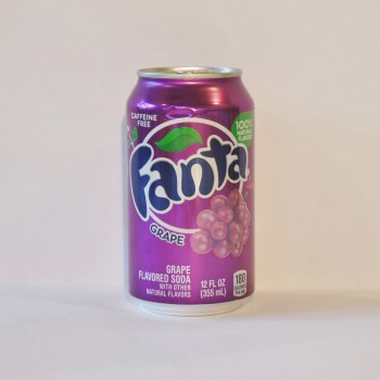 grape fanta American soda from Auntie Ammie's Candy Shop UK