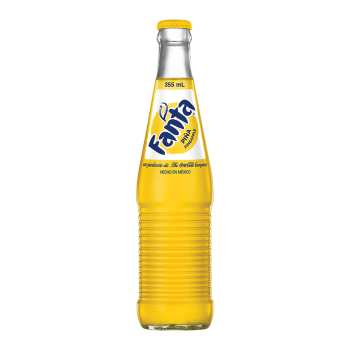 Mexican Fanta Pineapple Soda 355ml from auntie jammies American candy shop