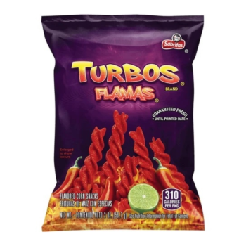 Frito Lays Turbo Flamas Corn Snacks - 2oz (56.7g) from auntie ammies American candy shop