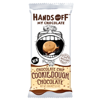 Hands Off My Chocolate - Chocolate Chip Cookie Dough Chocolate - 3.5oz (100g) from Auntie Ammies American Candy Shop