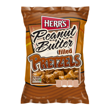 Herr's Peanut Butter Filled Pretzels - 2oz (57g)
