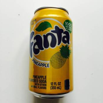 Fanta pineapple American soda from Auntie Ammie's American Candy Shop UK