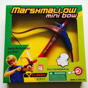 Marshmallow mini bow from Auntie Ammie's American Candy Shop UK