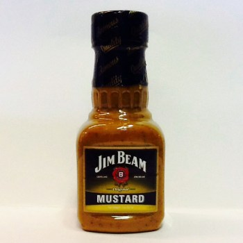 mustard jim beam American groceries UK from Auntie Ammie's Candy Shop