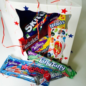Candy Crazy Gift Box from Auntie Ammie's American Candy store UK