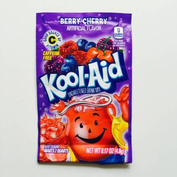 Kool Aid Blastin Berry Cherry from Auntie Ammie's American Candy store UK