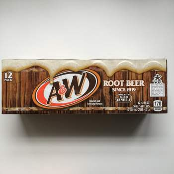 A&W Root Beer American soda UK