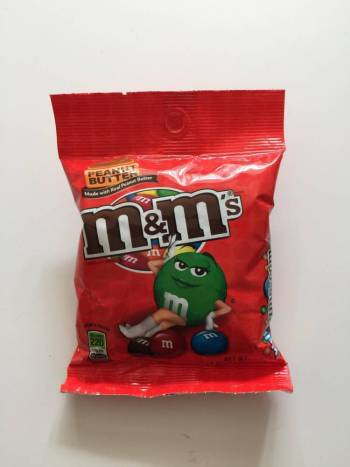 M&M's Peanut Butter (sharing bag) from Auntie Ammie's American Candy Shop UK