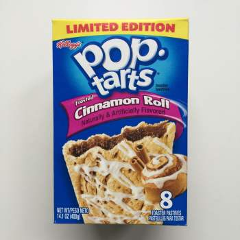 Frosted Cinnamon Roll Pop Tarts American food uk