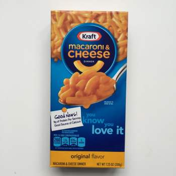 kraft macaroni cheese American foods