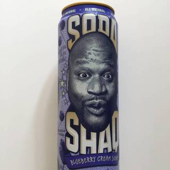 Arizona Soda Shaq Blueberry Cream Soda from Auntie Ammie's American Candy Shop UK