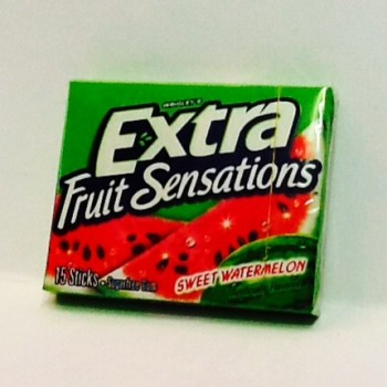 Wrigley's Extra Fruit Sensation Watermelon American candy from Auntie Ammie's Candy Shop