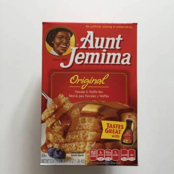 Aunt Jemima original pankcake Mix from Auntie Ammie's American Candy Shop UK