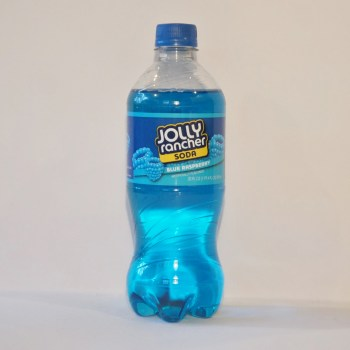 raspberry jolly rancher American soda from Auntie Ammie's Candy Shop UK