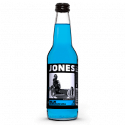 Jones Blue Bubblegum flavour Soda (330ml)