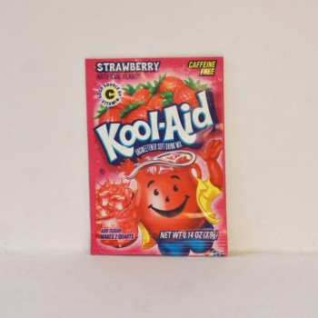 strawberry kool aid American food from Auntie Ammie's Candy Shop UK