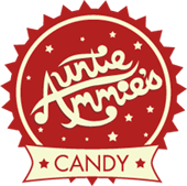 Auntie Ammie's Candy Shop logo