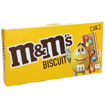 M&M's biscuit 10 pieces (198g)